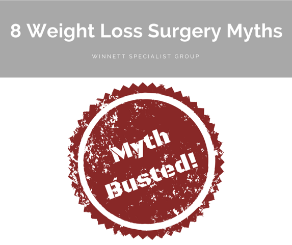 8 Weight Loss Surgery Myths