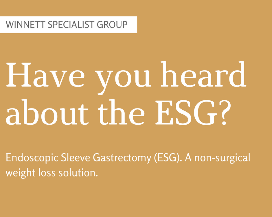 Have you heard about the ESG?