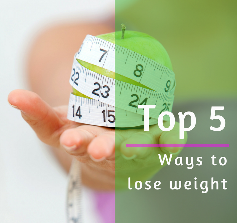 Top 5 ways to lose weight