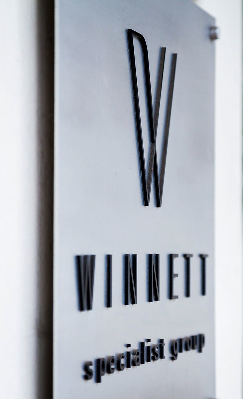 Winnett Specialist Group Signage